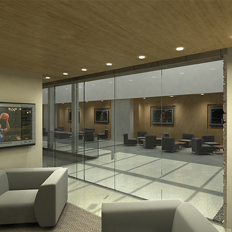 Allen Fieldhouse Donor Atrium Suites